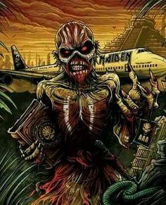Hard Rock, Heavy Metal Rock, Heavy Metal Bands, Bruce Dickinson, Metal Viking, Vic Rattlehead, Iron Maiden Posters, Iron Maiden Albums, Eddie The Head