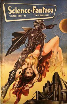 R.M. Bull, Science-Fantasy, a favorite of pulp art books.