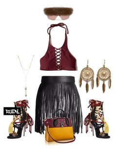 """""""Pocahontas"""" by styledbyrudy ❤ liked on Polyvore featuring Dsquared2, Hollister Co. and Rebecca Minkoff"""