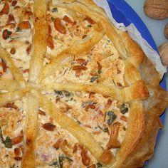 Tarta z ciasta francuskiego z kurkami (autor: marchiochakucharzy) - DoradcaSmaku.pl