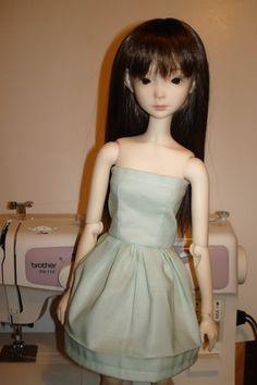 easy doll dress tutorial