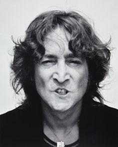 John Lennon photographed by Bob Gruen (1974)