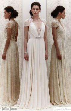 A 1920\'s Flapper Inspired Wedding Dress with Tassels | Flappers ...