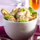 Een heerlijk recept: Gemarineerde mosselen / marinated mussels