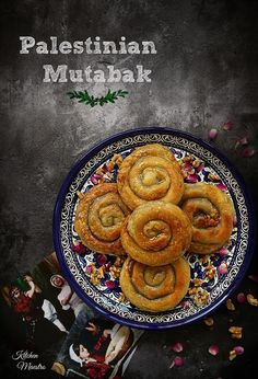 It's time for Arabic flavour recipe of the month! and this time it was from my beloved Palestine,Muttabak