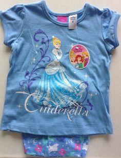 Cinderella Nightwear Disney Size 3 Pyjamas Girls Sleepwear, Pyjamas, Nightwear, Cinderella, Best Deals, Disney, Mens Tops, How To Wear, Shopping