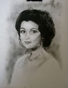 Somewhere in Time - Charcoal