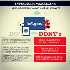 Instagram marketing- the do's and don'ts to successfully market your business