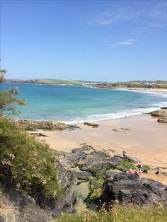 Beautiful Harlyn beach Cornwall
