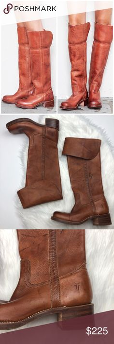 Frye Over The Knee Campus Boots So cute and a super rare sold out style by Frye! Size 9.5. Excellent pre owned condition with minimal wear and tear as shown in photos. No trades!! 012517300def Frye Shoes Over the Knee Boots
