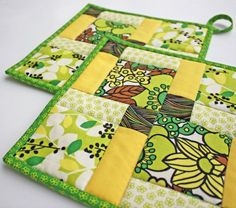 """""""Kitchen Sewing Crafts""""..... Potholders, oven mitts, scented hot pads,  coasters, tea cosies and more are quick and easy projects for anyone even a  beginning sewer. A wonderful way to add something special to your own kitchen or include in a gift basket."""