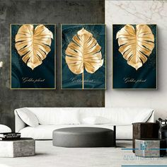 Add a touch of fashionable semblance to your walls through our Monstera Vogue Leaf Canvas Wall Art. Finished in a high-quality canvas material to ensure years of durability. A beautiful addition to any home decor setting. Choose between 1 to 3 unique pieces. Available in 14 sizes. Free shipping always! Evil Eye Art, Clay Wall Art, Gold Leaf Art, Gallery Wall Frames, Home Decor Paintings, Wall Art Pictures, Tree Wall, Art Pages, Diy Wall Decor