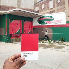 The Pantone Project par Paul Octavious