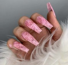 30 most sexy and trendy prom and wedding acrylic nails and matte nails for this season 24 - nails Aycrlic Nails, Matte Nails, Swag Nails, Hair And Nails, Coffin Nails, Fake Gel Nails, Grunge Nails, Black Nails, Glitter Nails