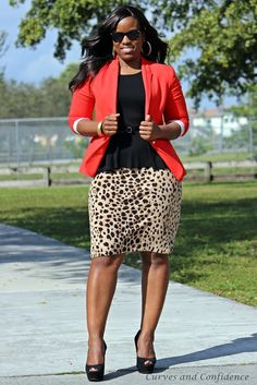 Curves and Confidence | Miami Fashion Blogger: December 2012 (great blog)