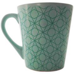 Zöld, mintás kávésbögre Minion, Mugs, Tableware, Dinnerware, Tumblers, Tablewares, Minions, Mug, Dishes