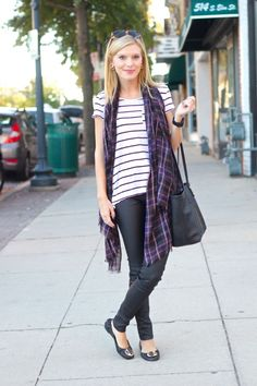 Life with Emily | a life + style blog : Stripes & Plaid