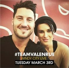Live chat.......Tuesday March 3rd!!! #DWTS #TeamValenRue