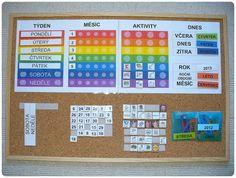 Seznámení s kalendářem   Doma s Montessori