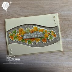 Rose Packer - Creative Roses | Stampin' Up! - Quite Curvy bundle, early release. Craft Paper Storage, Cards For Friends, Friend Cards, Crazy Bird, Stampin Up Catalog, Leaf Garland, Get Well Cards, Fall Cards, Card Sketches