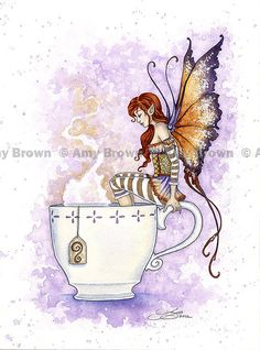 Fairy Art Artist Amy Brown: The Official Online Gallery. Fantasy Art, Faery Art, Dragons, and Magical Things Await. Fantasy Kunst, Fantasy Art, Tee Kunst, Amy Brown Fairies, Dark Fairies, Dragons, Elfen Fantasy, Watercolor Mermaid, Tattoo Watercolor
