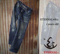 ETERNAL #811 - fading after 1 year's wear ⓀⒾⓃⒼⓈⓉⓊⒹⒾⓄⓌⓄⓇⓀⓈ