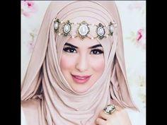 لفات حجاب لفات طرح وطرح سواريه 50 - بسيطة جذابة وأنيقة - YouTube