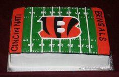 Bengals Cake cakepins.com