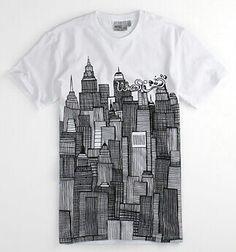 .. Tee Design, Shirt Print Design, Shirt Designs, Printed Shirts, Tee Shirts, Mens Trends, Stylish Men, Cool Tees, Short