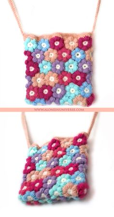 """I'm finally done with this totally girly bag. It's small """"over the shoulder"""" bag with a very long handle."""