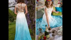 77+ Tie Dye Wedding Dresses - Dress for Country Wedding Guest Check more at http://svesty.com/tie-dye-wedding-dresses/