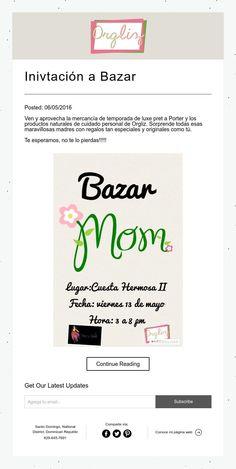 Inivtación a Bazar