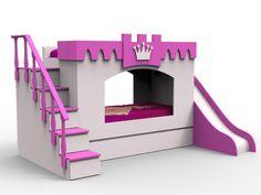 Tree House Bunk Bed, House Beds, Unicorn Room Decor, Unicorn Rooms, Kid Beds, Bunk Beds, Girls Bedroom, Bedroom Decor, Bedroom Ideas