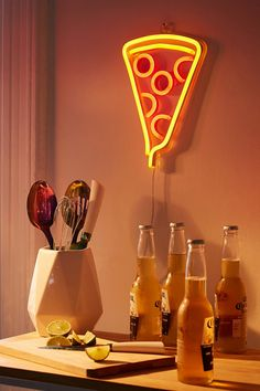 Pizza Neon Sign | Urban Outfitters