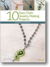 10 Easy Chain Jewelry Making Projects eBook from Interweave