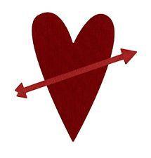 quickutz 4x4 heart w/ arrow REV 0085