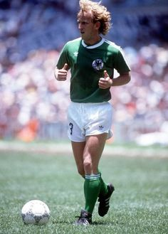 World Cup Final Azteca Stadium Mexico June Argentina 3 v West Germany 2  West Germany s Andreas Brehme a6556683c81c8