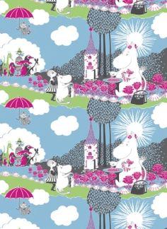Ruusumuumi / Moomin : Finlayson Box Design, Design Art, Tove Jansson, Linen Bedding, Bed Linen, Flower Pictures, Fairy Tales, Illustration Art, Childhood