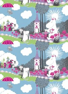 Moomin bed linen by Finlayson