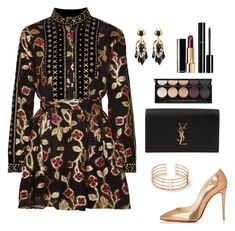 """Untitled #346"" by bajka2468 ❤ liked on Polyvore featuring Dodo Bar Or, Christian Louboutin, Yves Saint Laurent, Chanel, Witchery and Gucci"