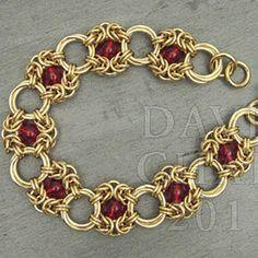 beaded jump ring jewelry | Instructions :: Tutorials :: Scott David Plumlee Tutorials :: Bracelet ...