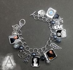 Shawn mendes charm bracelet choker