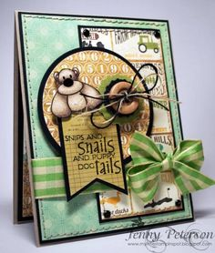 Snips and Snails by jennypete - Cards and Paper Crafts at Splitcoaststampers