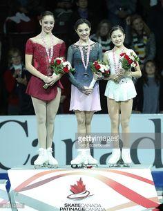 Skate Canada2016 Evgenia Medvedeva, Kaetlyn Osmond and Satoko Miyahara