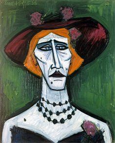 • BERNARD BUFFET : 1928 - 1999 : French • 'The transvestite' : 1953 : oil Buffet, Museum, Georges Braque, Grayson Perry, Aboriginal Art, Art Station, Sculpture, Expressionist Artists, Warhol