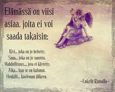 Finnish Words, Truth Of Life, Back To Basics, Some Words, Life Skills, Funny Texts, Positive Vibes, Poems, Life Quotes