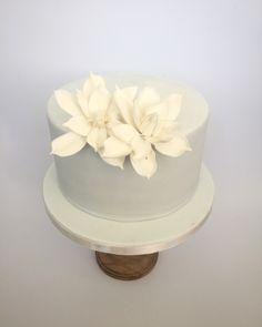 Gardenia flower cake by Olivia's Cake Boutique