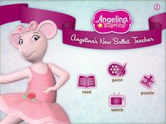 """Angelina Ballerina gets a new dance instructor and learns to accept that there's more than one """"right"""" way to do things. Teacher Games, Dance Teacher, Dance Class, Best Educational Apps, Angelina Ballerina, Teacher Librarian, Dance Instructor, School Daze, Books For Teens"""