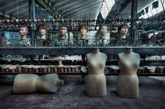 Disembodied Heads and Mannequin Torsos in the Abandoned Doll Factory