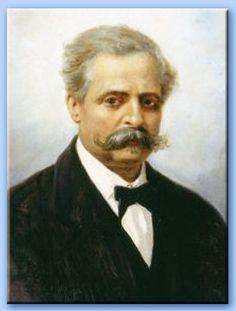 Francesco Saverio De Sanctis (28.3.1817 - 29.12.1883), scrittore, critico letterario, politico, Ministro della Pubblica Istruzione e filosofo italiano.